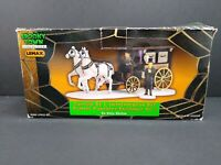 Lemax Spooky Town collection      Undertaker's Carriage (Carriage Only)