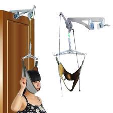 Over Door Neck Cervical Traction Kit Neck Back Stretcher Adjustment Chiropractic