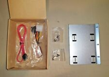 """2.5"""" to 3.5"""" Bay SSD Metal Hard Drive HDD Mounting Bracket Adapter Tray w/Cables"""