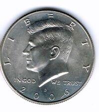 2006-D Brilliant Uncirculated Copper-Nickel Clad Copper Strike Half Dollar Coin!