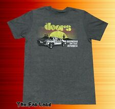 New The Doors Riders On The Storm 1971 Vintage Concert T-shirt