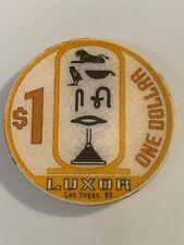 New listing Luxor $1 Casino Chip Las Vegas Nevada 3.99 Shipping