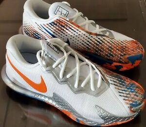 🔥Nike Air Zoom Vapor Cage 4 HC Men's Shoes size 10.5 DJ4938-100 Tennis Atheltic