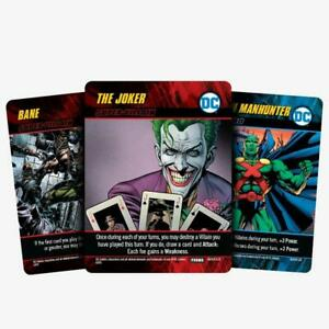 DC Deck-Building Game: The Joker, Martian Manhunter, and Bane PROMO CARDS