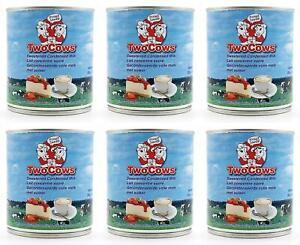 Two Cows Sweetened Condensed Milk 397g (Pack of 6)