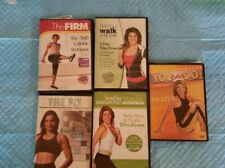 5 Fitness dvd lot