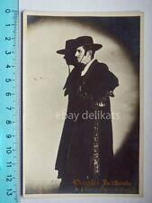 DOUGLAS FAIRBANKS attore actor cinema Zorro vecchia cartolina