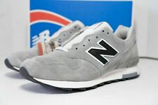 New Balance X J Crew 1400 M1400G Gray Suede Running Shoes Men's