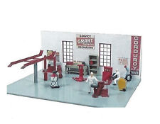 Service Station interior Equipment Kit-Model Trains HO Accessories-JLI 498