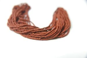 11/0 SEED BEADS PRECIOSA Traditional Czech Beads hanks NATIVE SUPPLY 5 HANKS