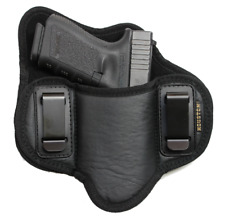 Soft IWB Dual Clip Pancake Gun Holster fits Glock 19, 23, 29, 30, 32