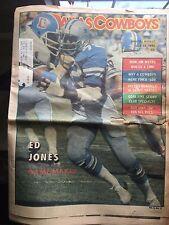 """"""" NFL Dallas Cowboys Official Weekly Magazine October, 11, 1980; Vol. 6, No. 17"""