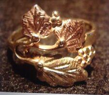 Black Hills Gold Ring 10k Size 6.5