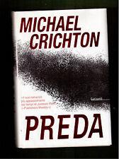 PREDA- MICHAEL CRICHTON - 1^ EDIZIONE GARZANTI 2003