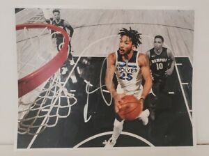 """DERRICK ROSE Autographed 11x14 photo Minnesota Timberwolves """"Drive to the Hoop"""""""