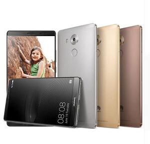 "Huawei Ascend Mate 8  NXT-L29 Dual SIM 4G LTE Mobile Phone 6"" 4GB RAM 64GB ROM"