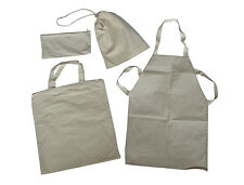 Calico Selection Pack; Shopping Bag, Pump Bag, Apron & Pencil Case
