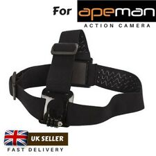 Adjustable Head Strap Mount for Action Camera Apeman A60 A66 A70 A80