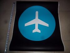 22x24 TRAIN TO THE PLANE MANHATTAN NYC SUBWAY ROLL SIGN RARE NY HOWARD BEACH