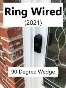 Ring Wired (2021) 90 degree wedge angle (VIDEO DOORBELL NOT INCLUDED!!!)