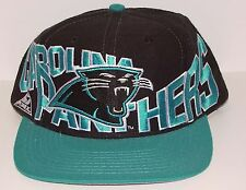653bde33206 Vintage 90 s Carolina PANTHERS Apex One SnapBack HAT Big LOGO NWOT NEW Old  Stock