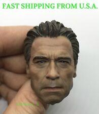 """1/6 Arnold Alois Schwarzenegger Head Sculpt For 12"""" Hot Toys PHICEN Figure ❶USA❶"""