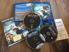 Harry Potter and the Deathly Hallows: Part I (Blu-ray/DVD, 2011, 3-Disc Set, Inc