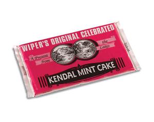 Kendal Mint Cake  Wipers Original White Kendal Mintcake  Pack of  2 x 170g Bars