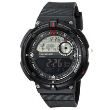 Casio SGW-600H-1B Men's Twin Sensor Quartz Resin Casual Watch - Black