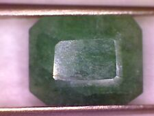 Emerald - Genuine, Natural, Rectangular Shape Emerald, 6.15 Carats.