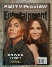 Entertainment Weekly Magazine October 2019 Jennifer Aniston Reese Witherspoon