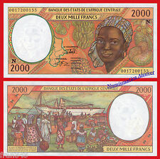 CENTRAL AFRICAN STATES EQUATORIAL GUINEA 2000 Francs 2000 Pick 503Ng  SC- / aUNC