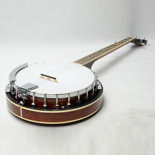 New Top Grade Exquisite Professional Wood Metal 5-string Banjo