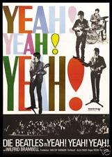 The Beatles Yeah Yeah Yeah Culto Musical Cartel de Película Estampado