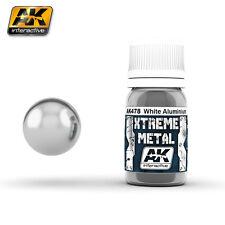 AK Interactive AK 478 XTREME METAL WHITE ALUMINIUM Enamel Paint