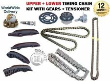 FOR MINI CLUBMAN R55 ONE D 2010-->ON NEW UPPER + LOWER TIMING CHAIN KIT SET