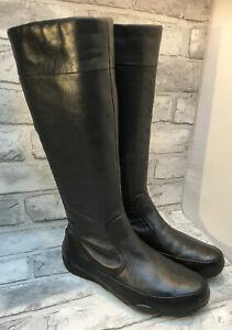 CLARKS LADIES BLACK LEATHER MODERN ACTIVE AIR BOOTS SIZE 4.5- 5 UK 37.5 -38 EUR