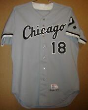 CHICAGO WHITE SOX TERRY BEVINGTON 1992 GRAY BUTTON-DOWN JERSEY