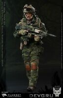 "FLAGSET 1/6 Seal 6 Team DEVGRU Jungle Dagger FS-73020 12"" Action Figure"