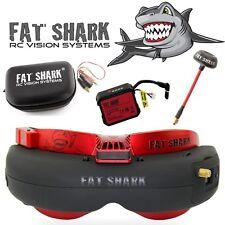 NEU Fat SHARK FPV goggles Attitude V4 Anniversary Edition Headset Fatshark 1048