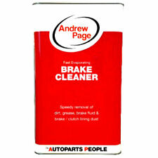 Andrew Page BRAKE CLEANER 4X 5 LITRES - SPECIAL OFFER !!