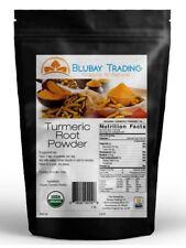 Tumeric Organic Root Powder 100% Pure (Curcuma Longa) Turmeric 1 lb