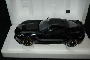 1:18 AutoArt - Chevrolet Corvette (C7) Z06 C7.R Edition  Gloss Black damaged box