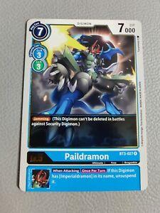 Paildramon   NM/M   BT3-027 R   Digimon CCG