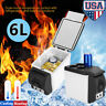 12V 6L Electric Cooler and Warmer Car Refrigerator Portable Mini Fridge Freezer