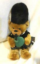 Harrod's Plush Bagpiping Teddy Bear