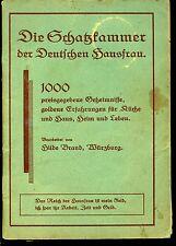 Die Schatzkammer der Deutschen Hausfrau -1000 Geheimnisse- Hilde Brand -2.Aufl.