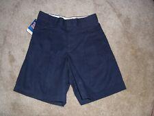Nwt Girls Simply Basic Navy School Uniform Shorts Size 8 Regular