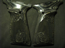 Browning Buckmark Checkered/Engraved Scroll Blackwood UFX-ONLY Grips Beautiful!