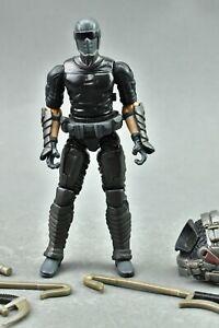"GI Joe Snake Eyes V53 Pursuit Of Cobra Tornado Kick 3.75"""